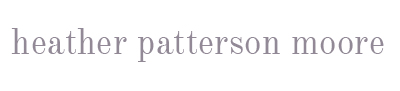 heather patterson moore blog logo